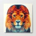 Lion - Colorful Animals by raquelcatalandesigns