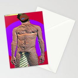 Man and his Necktie Stationery Cards