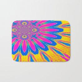 The Modern Flower Rainbow Bath Mat