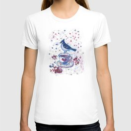 Winter Tea (Ble Jay) T-shirt