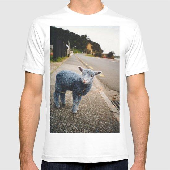 Blue? Sheep? T-shirt