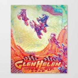 Glen Helen Motocross 2008 Canvas Print