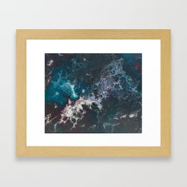 Trapped in the Bubbles Framed Art Print