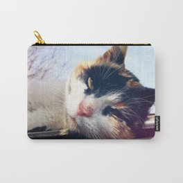 cat lying Carry-All Pouch