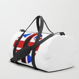Union Jack Button Duffle Bag
