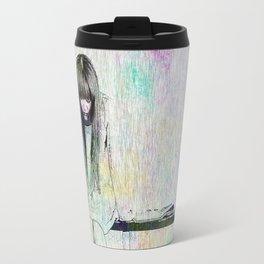 Even sad times got some color Travel Mug