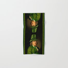 St Patrick's Day for Lucky Ben Franklin Hand & Bath Towel