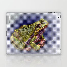 The InFocus Happy Frog Collection IV Laptop & iPad Skin
