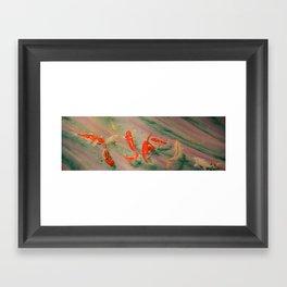Koi River Framed Art Print