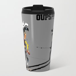 Fast shadow - OUPS - grey version Travel Mug