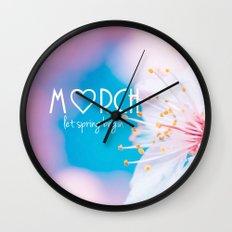 March Wall Clock