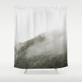 FOGGYMOUNTAIN Shower Curtain