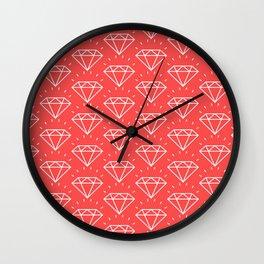 DIAMOND ((strawberry)) Wall Clock