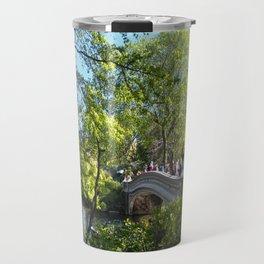 Bow Bridge- Central Park- NYC Travel Mug