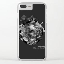 Burcu Korkmazyurek x Rituals of Mine Clear iPhone Case