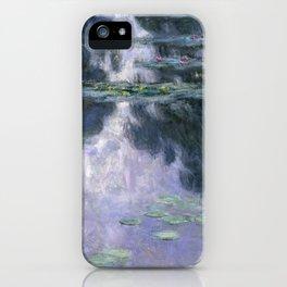 Monet - Water Lilies (Nymphéas), 1907 iPhone Case