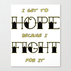 Wendy Watson ~ HOPE Canvas Print
