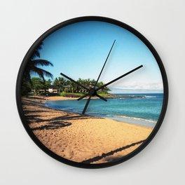 Napili Bay Beach Wall Clock