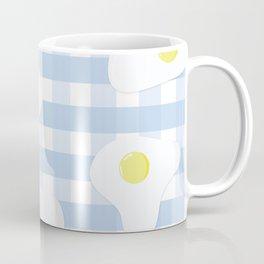 Sunny Side Up + Gingham Coffee Mug