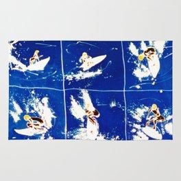 SURF CARNIVAL        by Kay Lipton Rug