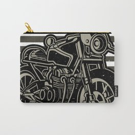 Morocycle caferacer vintage Carry-All Pouch