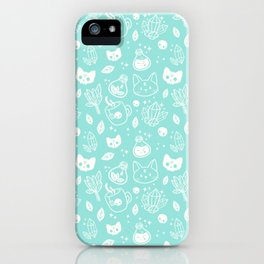 Herb Witch // Green Pastel iPhone Case