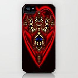 Red pendant. iPhone Case