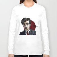 david tennant Long Sleeve T-shirts featuring David Tennant by Izzy King