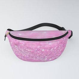 Sparkling Baby Girl Pink Glitter Effect Fanny Pack