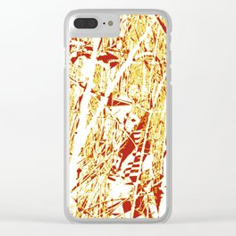 Broken Forest Clear iPhone Case