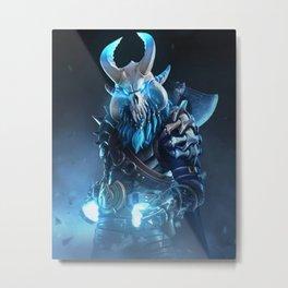 Ragnarok skin Metal Print
