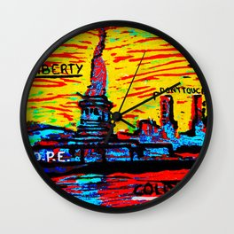 NEY YORK Wall Clock