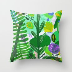 Between the branches. II Throw Pillow