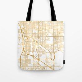 TUCSON ARIZONA CITY STREET MAP ART Tote Bag