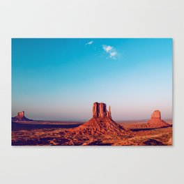 Three Of A Kind - Monument Valley Canvas Print