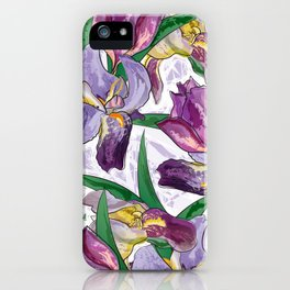 the iris iPhone Case