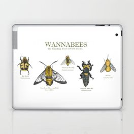 wannabees: Bee Mimicking Inects Laptop & iPad Skin
