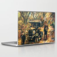 the godfather Laptop & iPad Skins featuring The Godfather. Part Two by Miquel Cazanya