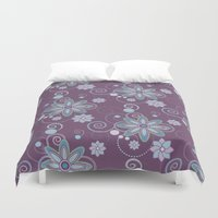brooklyn Duvet Covers featuring Brooklyn by HollyPop Designs