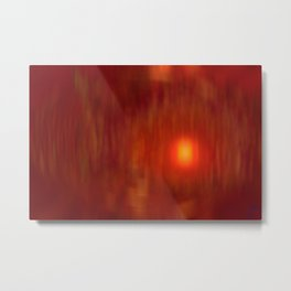 Epoch Sunset Metal Print