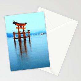 itsukushima shrine, miyajima Stationery Cards