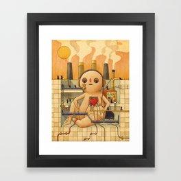Feelings Factory Framed Art Print