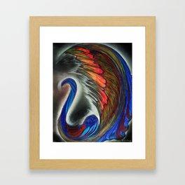 Beautiul Swan Framed Art Print