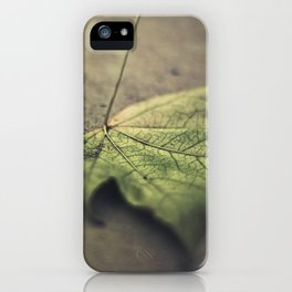 I'm going through changes iPhone Case
