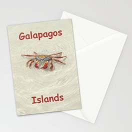 crab in the water Stationery Cards