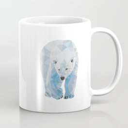 Geometric Polar Bear Coffee Mug