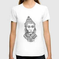 hindu T-shirts featuring Hindu Deity (Hanuman) by The Artful Yogini
