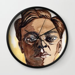 Man with glasses Wall Clock