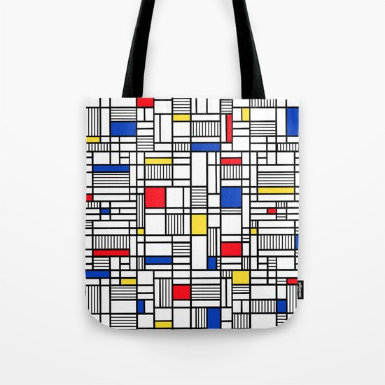 Map Lines Mond Tote Bag