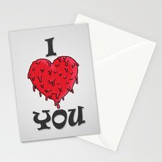 I LOVE YOU // VALENTINE GIFT Stationery Cards